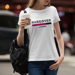 JGA-Shirt für Frauen Hangover Loading