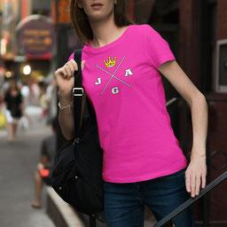 JGA-Shirt für Frauen Krone JGA