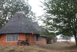 notre rondavel au Swaziland