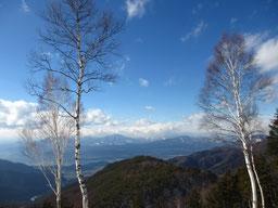 旭山頂上からの眺望