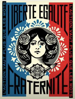 Shepard Fairey, Long Live the People, 2020