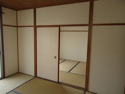和室2間の部屋