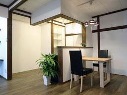 当社の改修例 ここは和室でした