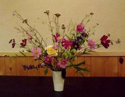 真の日本料理「美菜ガルテンふるかわ」仲秋の野の花