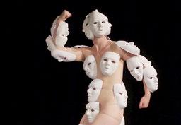 Maskenfrau