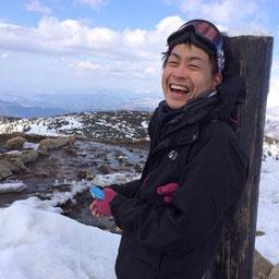 登山サークル代表 野村篤司