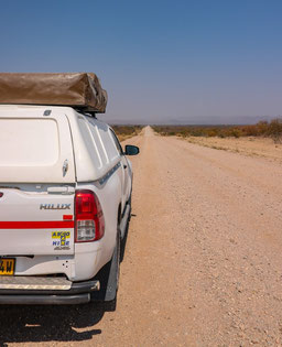 Offroad durch Namibia