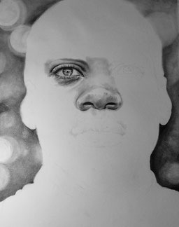 Work in Progress: Portrait 50x64cm
