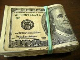 """Legal tender for all debts. Schon Dostojewskij wusste, dass Geld """"geprägte Freiheit"""" ist. Bild flickr."""