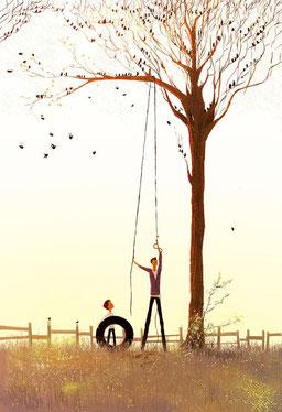 Das Kind ist der Vater des Mannes. Bild Francesca Bizzeti/Pinterest