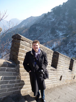 Chinesische Mauer bei Peking. Photo: Men's Individual Fashion.