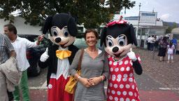 Mickey- und Minnie-Maus waren auch dabei