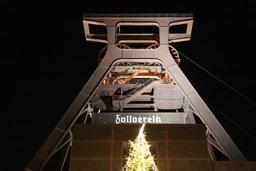 Weltkulturerbe Zeche Zollverein zu Weihnachten