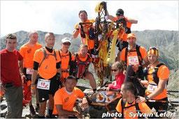 Défi Pompier Raid Aventure autour de la Croix du Pic du Canigo