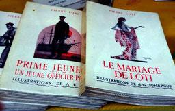 Livres à découper de Pierre Loti