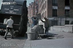 Ramassage des ordures à Paris &nnées 40