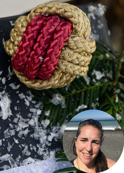 Monek Fist Christmas Baubles by AllAboutTheMonkey, featured in the PASiNGA curated Christmas artisan gift guide