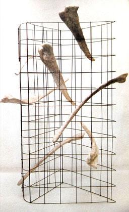 """2003 - """"Trafic d'âmes"""" Montigny-lés-Cormeilles  espace Leonard de Vinci - Roman Gorski"""