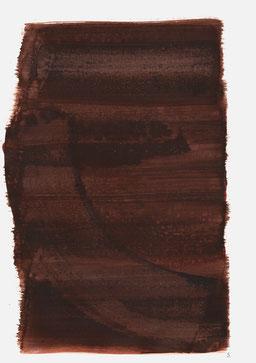 """""""Aufschrei 17:38 Uhr"""", 2016, 48 x 36cm"""