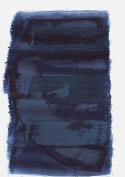 """""""Schrei 15:36 Uhr"""", 2018, 48 x 36cm"""