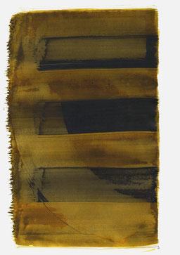 """""""Aufschrei 19:02 Uhr"""", 2016, 48 x 36cm"""