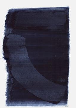 """""""Aufschrei 23:38 Uhr"""", 2015, 48 x 36cm"""