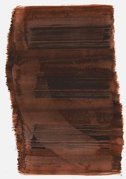"""""""Aufschrei 15:59 Uhr"""", 2016, 48 x 36cm"""