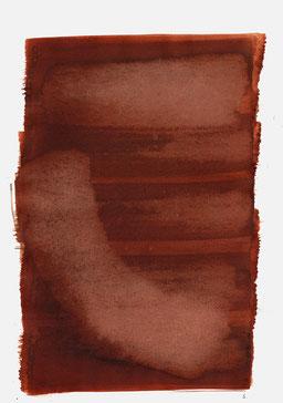 """""""Aufschrei 10:59 Uhr"""", 2015, 48 x 36cm"""