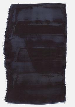 """""""Aufschrei 02:58 Uhr"""", 2016, 48 x 36cm"""