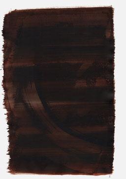 """""""Endloser Schrei 00:42 Uhr"""", 2015, 48 x 36cm"""