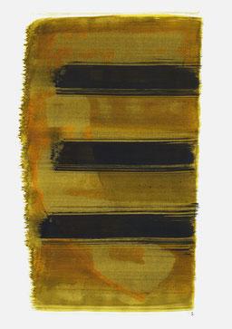 """""""Aufschrei 10:07 Uhr"""", 2016, 48 x 36cm"""