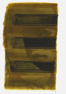 """""""Schrei 16:43 Uhr"""", 2016, 48 x 36cm"""
