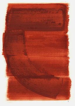 """""""Schrei 09:01 Uhr"""", 2016, 48 x 36cm"""