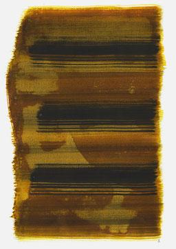 """""""Aufschrei 11:59 Uhr"""", 2016, 48 x 36cm"""