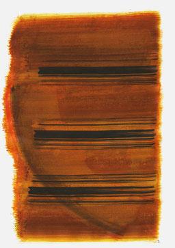 """""""Schrei 17:42 Uhr"""", 2015, 48 x 36cm"""