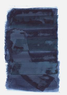"""""""Aufschrei 11:57 Uhr"""", 2018, 48 x 36cm"""