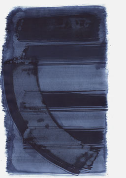 """""""Schrei 10:43 Uhr"""", 2017, 48 x 36cm"""