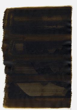 """""""Schrei 02:58 Uhr"""", 2015, 48 x 36cm"""
