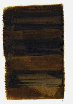 """""""Aufschrei 11:07 Uhr"""", 2015, 48 x 36cm"""