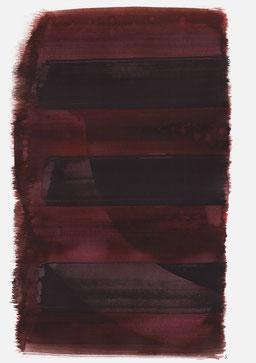 """""""Schrei 00:30 Uhr"""", 2016, 48 x 36cm"""