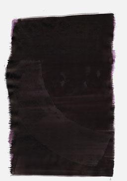 """""""Schrei 03:04 Uhr"""", 2015, 48 x 36cm"""