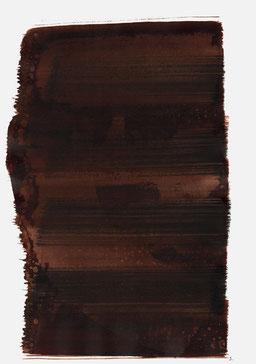 """""""Aufschrei 21:19 Uhr"""", 2015, 48 x 36cm"""