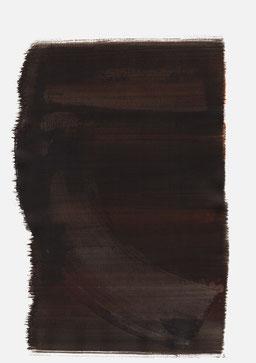 """""""Schrei 23:01 Uhr"""", 2016, 48 x 36cm"""