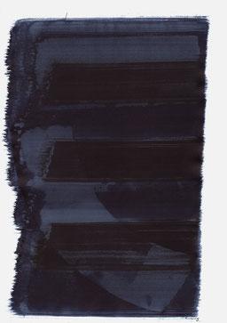 """""""Aufschrei 04:18 Uhr"""", 2015, 48 x 36cm"""