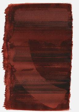 """""""Schrei 16:33 Uhr"""", 2015, 48 x 36cm"""