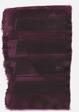 """""""Schrei 22:11 Uhr"""", 2016, 48 x 36cm"""