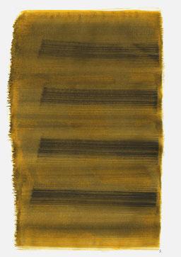 """""""Aufschrei 13:27 Uhr"""", 2016, 48 x 36cm"""