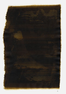 """""""Aufschrei 03:12 Uhr"""", 2015, 48 x 36cm"""