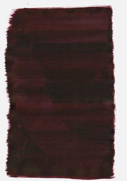 """""""Aufschrei 23:00 Uhr"""", 2016, 48 x 36cm"""