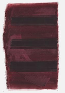 """""""Schrei 11:03 Uhr"""", 2017, 48 x 36cm"""